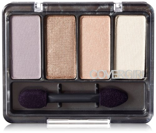 CoverGirl Eye Enhancers 4 Shadow Kit, Basics Urban 220, 0,19 le paquet once