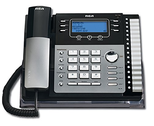 RCA ViSys 25424RE1 4-Line Expandable System Speakerphone with Call Waiting/Caller ID/Intercom by RCA