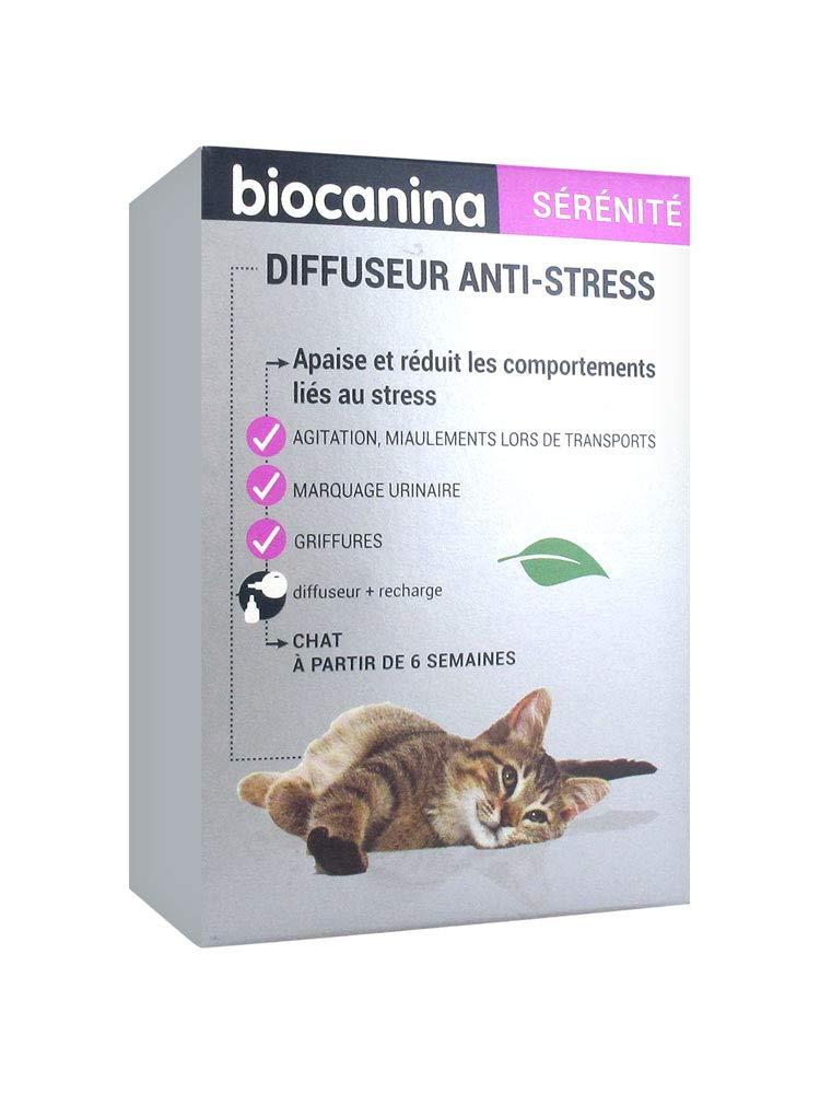 BIOCANINA - Difusor antiestrés para Gatos, 45 ml: Amazon.es ...
