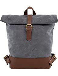 Backpack Angelinas Palace Laptop Backpack Rolling Canvas Leather Backpack Waterproof Bookbag Casualfor Hiking...