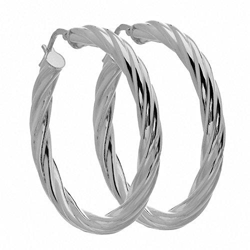 Amoro Italian Sterling Silver Earrings