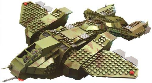 Mega Bloks Halo UNSC Pelican Dropship by Mega Bloks