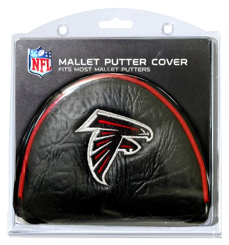 (Team Golf NFL Atlanta Falcons Golf Club Mallet Putter Headcover, Fits Most Mallet Putters, Scotty Cameron, Daddy Long Legs, Taylormade, Odyssey, Titleist, Ping,)