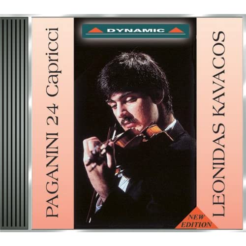 paganini 24 caprices by leonidas kavakos on amazon music. Black Bedroom Furniture Sets. Home Design Ideas