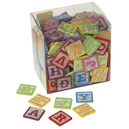 PACON WonderFoam Alphabet Stickers Blocks (Abc Alphabet Stickers)