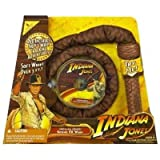 Hasbro Indiana Jones Sound FX Whip & DVD