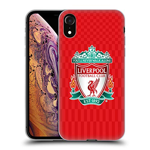 Official Liverpool Football Club Full Colour Home Crest Designs Soft Gel Case for iPhone XR ()