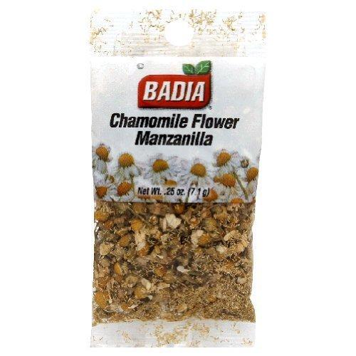Badia Chamomile Flower, 0.25-Ounce (Pack of 12) ()