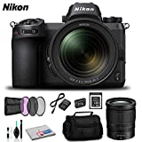 Nikon Z 6 Mirrorless Digital Camera with 24-70mm Lens - Bundle with Sony 32GB Memory Card + Spare Battery and More - International Version