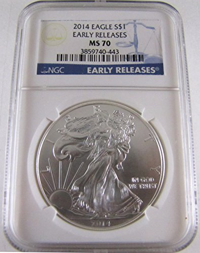 2014 American Silver Eagle $1 MS-70 NGC