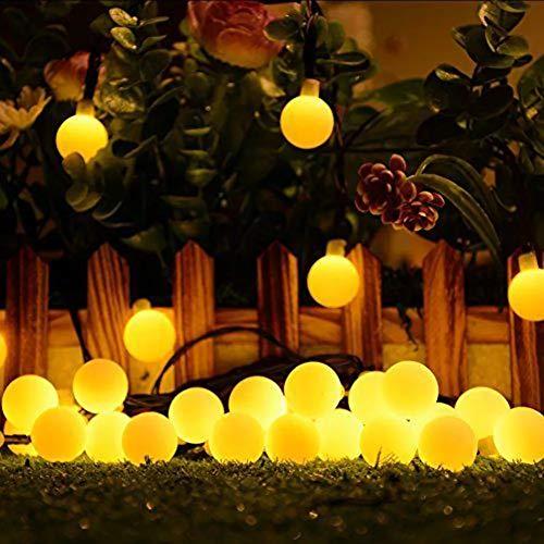 SATYAM KRAFT 6.5 Meter 30 Bulb Solar Powered LED Starry Fairy Light for Outdoor, Decorative Lighting for Home, Garden…