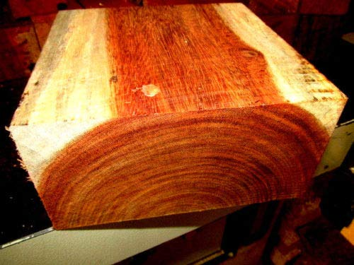 ONE Beautiful Exotic GRANADILLO Bowl Blank Lathe Lumber Wood 6 X 6 X 3''