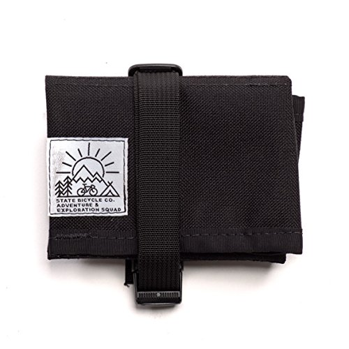 State Bicycle Co x Road Runner Bike Tool Roll Pouch, Black (Bags Roadrunner)