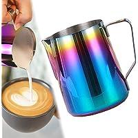 ابريق تبخير حليب من ميبرو لتبخير الحليب MIBRU Stainless Steel Espresso Coffee Pitcher Barista Kitchen Home Craft Scale…