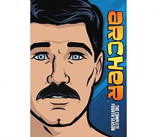 Blu-ray : Archer: The Complete Season Four (Digital Theater System, AC-3, Widescreen, 2 Pack, )