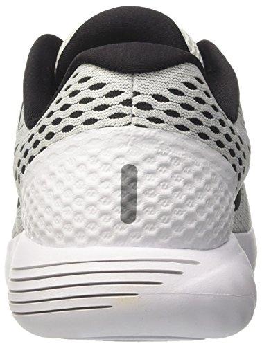 Nike Mujeres Lunarglide 8 Running Shoe Blanco / Negro