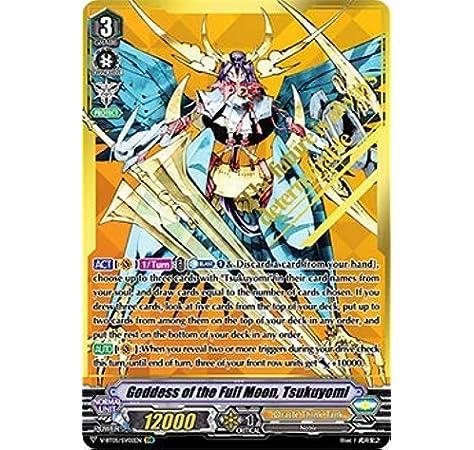 Goddess of the Half Moon Cardfight! Vanguard TCG Tsukuyomi V-BT05//008EN RRR