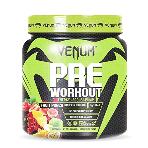 Venum Pre-Workout - 30 servings - Fruit Punch