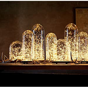 LIIDA String Lights, 3 Set Of LED Micro Lights Led Moon Lights On 7.2FT Copper Wire For DIY Wedding Centerpiece, Table Decoration, Party