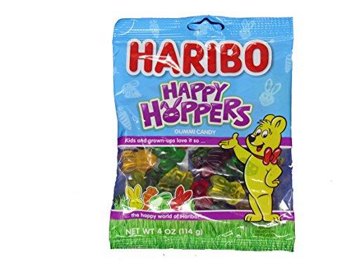 Haribo Happy Hoppers Gummi Candy 4 oz