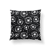 Christ-EZ Decorative Throw Pillows-Dandelion Dance Throw Pillow Pillowcase Pillow Cushion Cover Cases Single Side 26x26