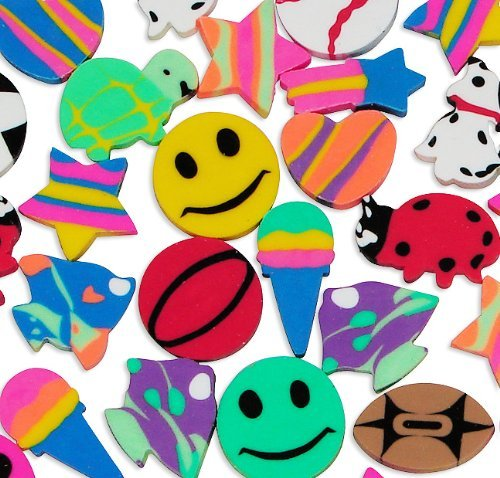 Fun Express Eraser Assortment Novelty