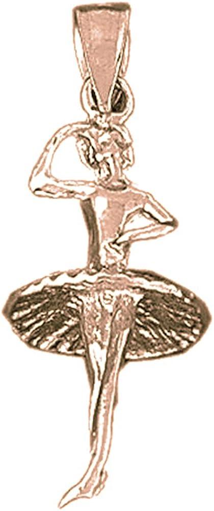 Jewels Obsession Runner Pendant Sterling Silver 925 Runner Pendant 32 mm