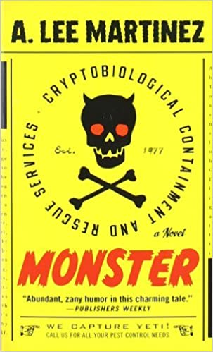 Book Monster by A. Lee Martinez (2010-03-04)