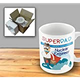 SuperDad Cleverly disguised as a Nuclear Engineer mug - Fathers Day Mug by The Victorian Printing Company
