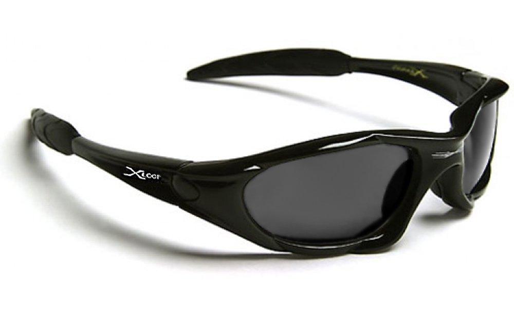 X-Loop Lunettes de Soleil - Sport - Cyclisme - Ski - Tennis - Mode - Conduite - Moto - Plage / Mod. 010P Noire N4ea6dvDD
