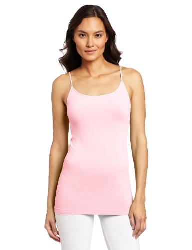 Skinny Tees Women's Skinny Cami, Neon Pink, One - Neon Code Pink