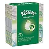 Kleenex Lotion Facial Tissues with Aloe & Vitamin E, Flat Box, 120 Tissues per Flat Box, 3 Packs