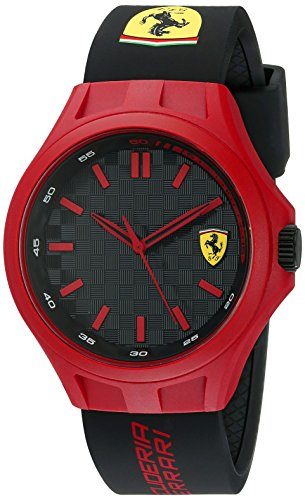 Ferrari 830287 Pit Crew Analog Display Quartz Black - Ferrari Shop