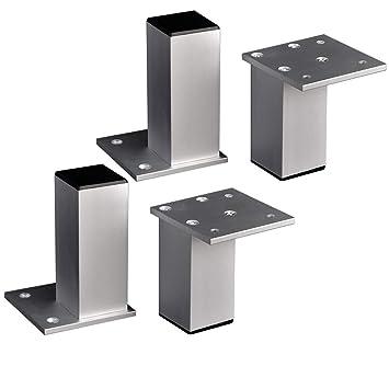 Furniture legs GCDW Pies del Gabinete, Juego De 4. Pies De ...