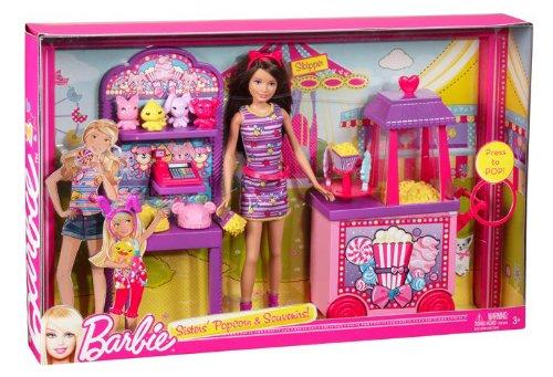 Barbie Sisters Popcorn Amp Souvenirs Playset Buy Online In