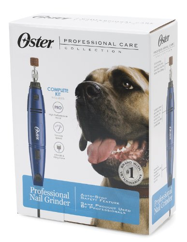 Oster Professional Corded Pet Nail Grinder Kit, Variable Speed (078129-650-000) by Oster (Image #3)