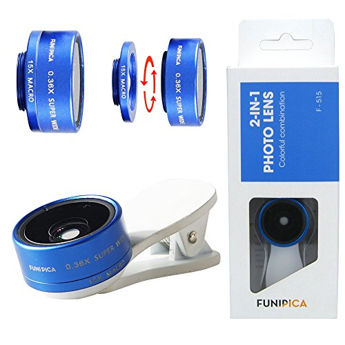 FUNIPICA-F515-iPhone-Camera-Lens-036X-Ultra-Wide-Angle-15X-Macro-Lens-2-in-1-iPhone-and-Android-Lens