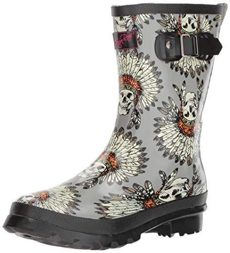 Sugar Floral Boots - 8