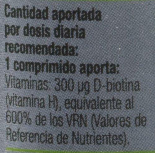 BIOTIN (BIOTINA VITAMINA H) 310 mg 100 Comp: Amazon.es: Salud y cuidado personal