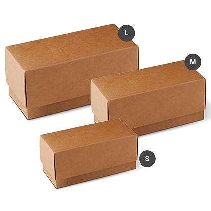 Con Regalo 50 Tapa Cartón Cubeta Pack De Caja Selfpackaging kPTXuOiZ
