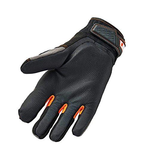 Ergodyne ProFlex 9015F(x) Anti-Vibration Work Gloves, Certified, Large, Black by Ergodyne (Image #2)
