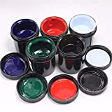 Jammas 5pcs/lot PCB UV photosensitive inks, Green PCB UV curable solder resist ink,solder mask UV ink Black White Red Green Blue - (Color: 5 colors in 1 pack)