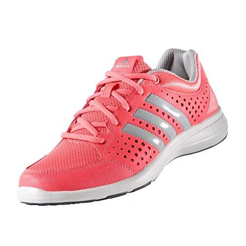 Nueva Adidas Arianna Iii Bicicleta elíptica de destello rojo / rosado negrita 5 Flash Red/Clear Onix/Bold Pink