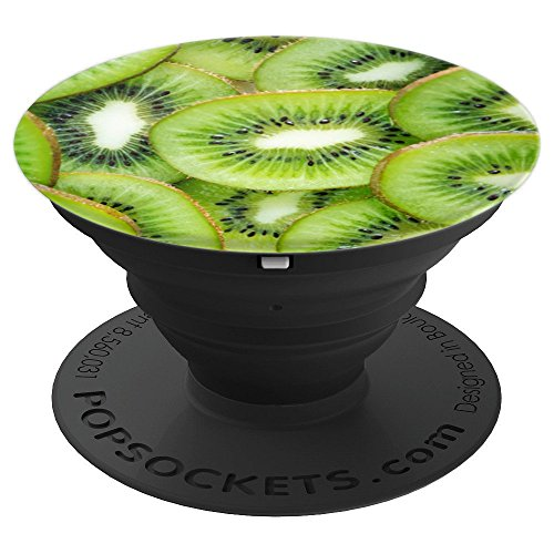 Tart Kiwi Fruit Lover Healthy Eating Lifestyle Vegan Gift - PopSockets Grip and Stand for Phones and Tablets ()