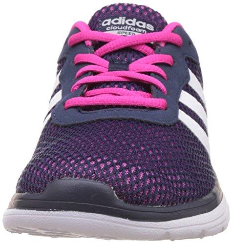 Speed De Chaussures Sport Bleu Cloudfoam Adidas Femme maruni Ftwbla Rose W Rosimp qawIxt