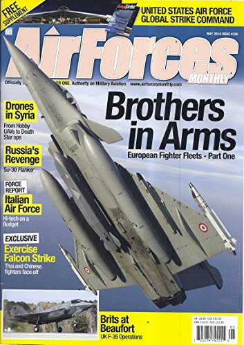 Air Forces Monthly Magazine (Issue 338 - May 2016 - Cover: A Rafale C) ()