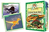 Professor Noggin's Dinosaurs - A Educational Trivia Based Card Game For Kids - Features 30 Illustrated Cards Including 180 Questions and a 3-Number Die (Ages 7+)