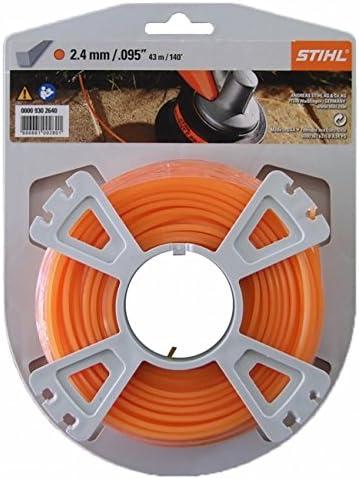 Stihl 00009302640 - Carrete de hilo cortacésped (2,4 mm, 43 m)