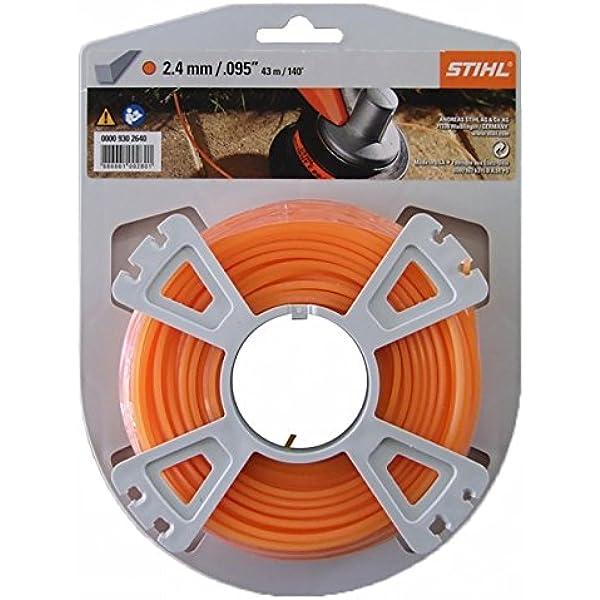 Stihl 00009302640 - Carrete de hilo cortacésped (2,4 mm, 43 m): Amazon.es: Bricolaje y herramientas