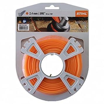 Stihl 00009302640 - Carrete de hilo cortacésped (2,4 mm, 43 ...
